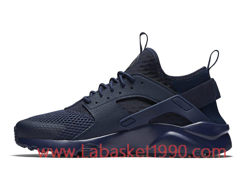 ... Nike Air Huarache Run Ultra Breathe 833147_400 Chaussures Nike Prix Pas Cher Poru Homme Bleu ...