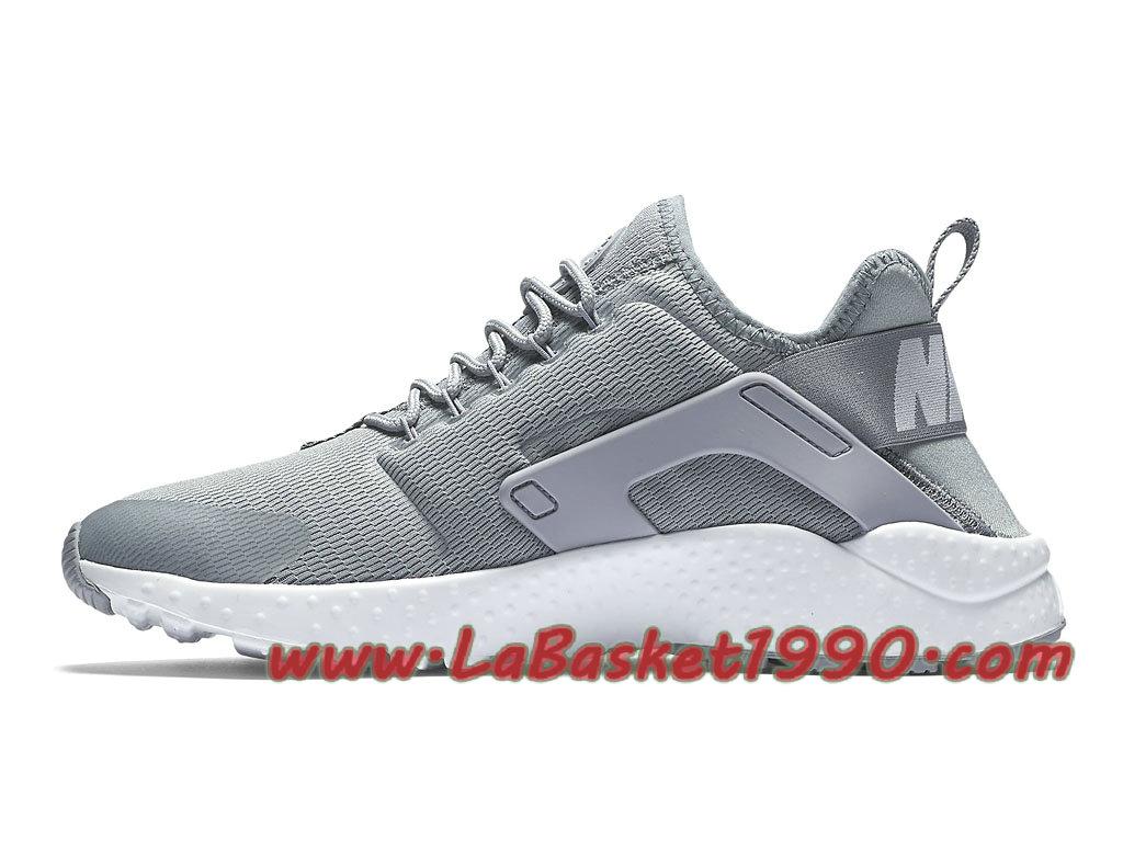 best cheap 6d5ad e382b ... australia nike air huarache ultra 819151003 chaussures nike huarache  pas cher pour femme enfant gris blanc