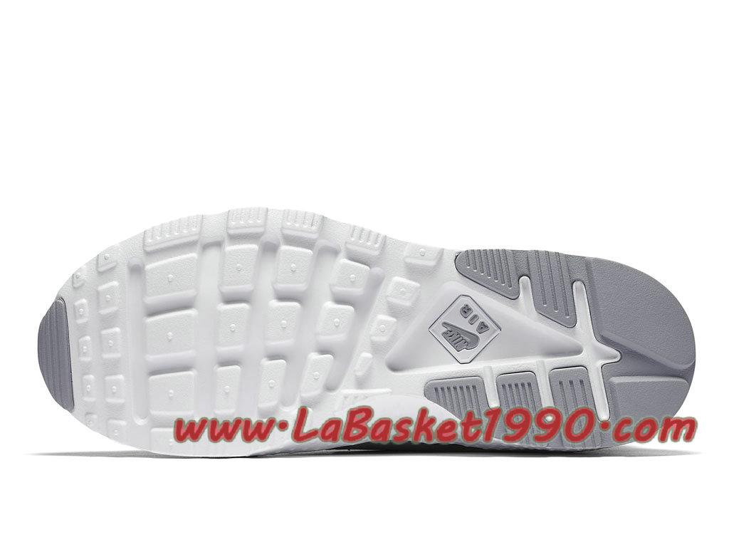 best sneakers d7f57 ee36a ... Nike Air Huarache Ultra 844880 001 Chaussures Nike Huarache Pas Cher  Pour Femme Enfant Gris