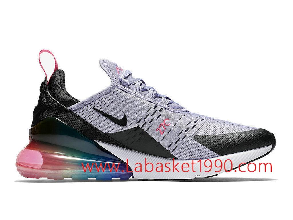 ... Nike Air Max 270 Be True Chaussures Officiel Prix Pas Cher Pour Homme Gris Noir AR0344 ...