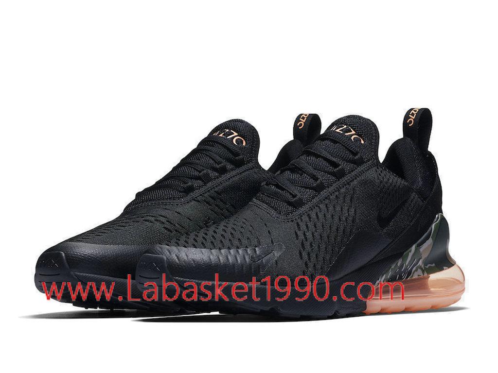 ... Nike Air Max 270 Black Camo Sunset AQ6239-001 Chaussures Officiel Basket Pas Cher Pour ...