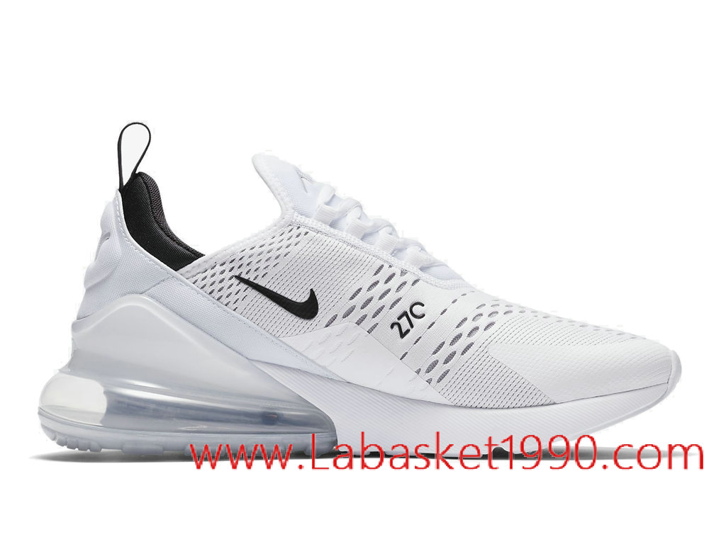 Nike Air Max 270 Chaussures Nike Basket Pas Cher Pour Homme Blanc Noir AH8050 100 1803031229 Chaussure Basket Homme Nike | Nike Officiel Site!