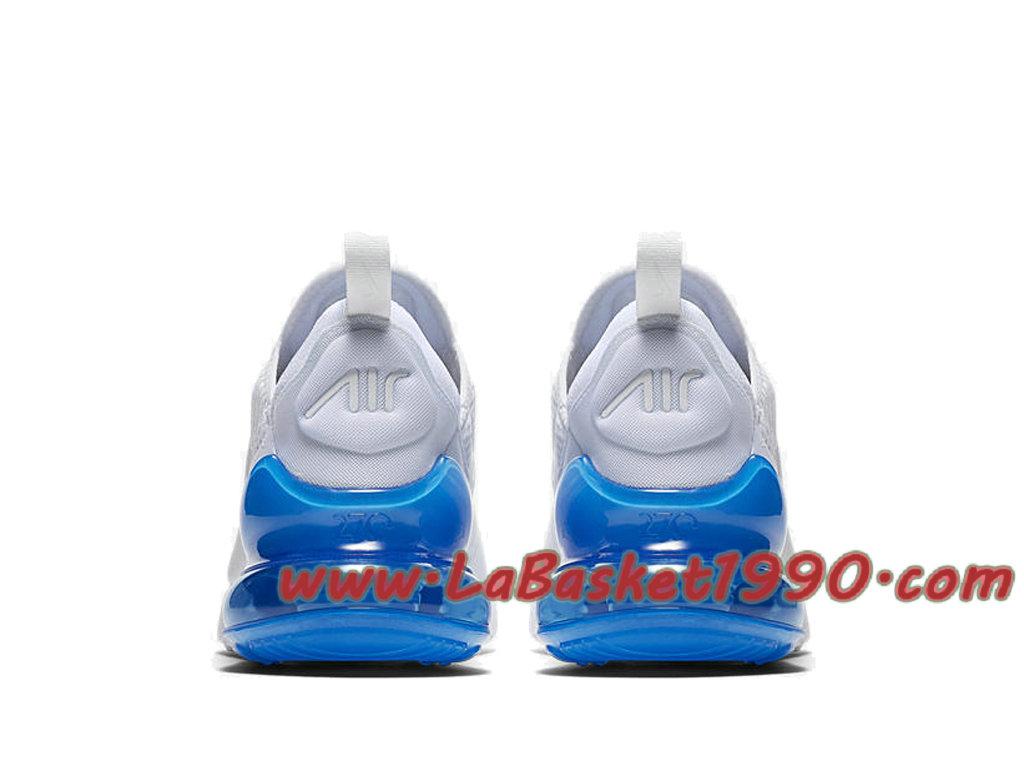 Nike Air Max 270 Chaussures Officiel 2018 Pas Cher Pour Homme Blanc Bleu AH8050 105 1804061330 Chaussure Basket Homme Nike | Nike Officiel Site!