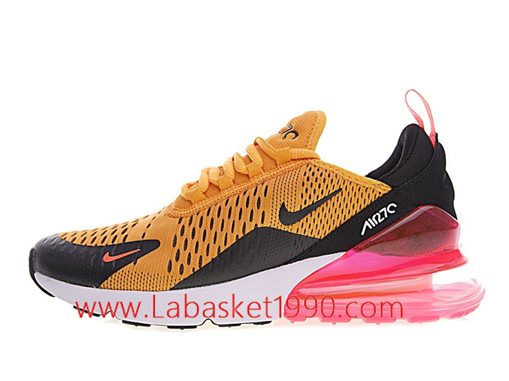 nike air max 270 rose et orange femme