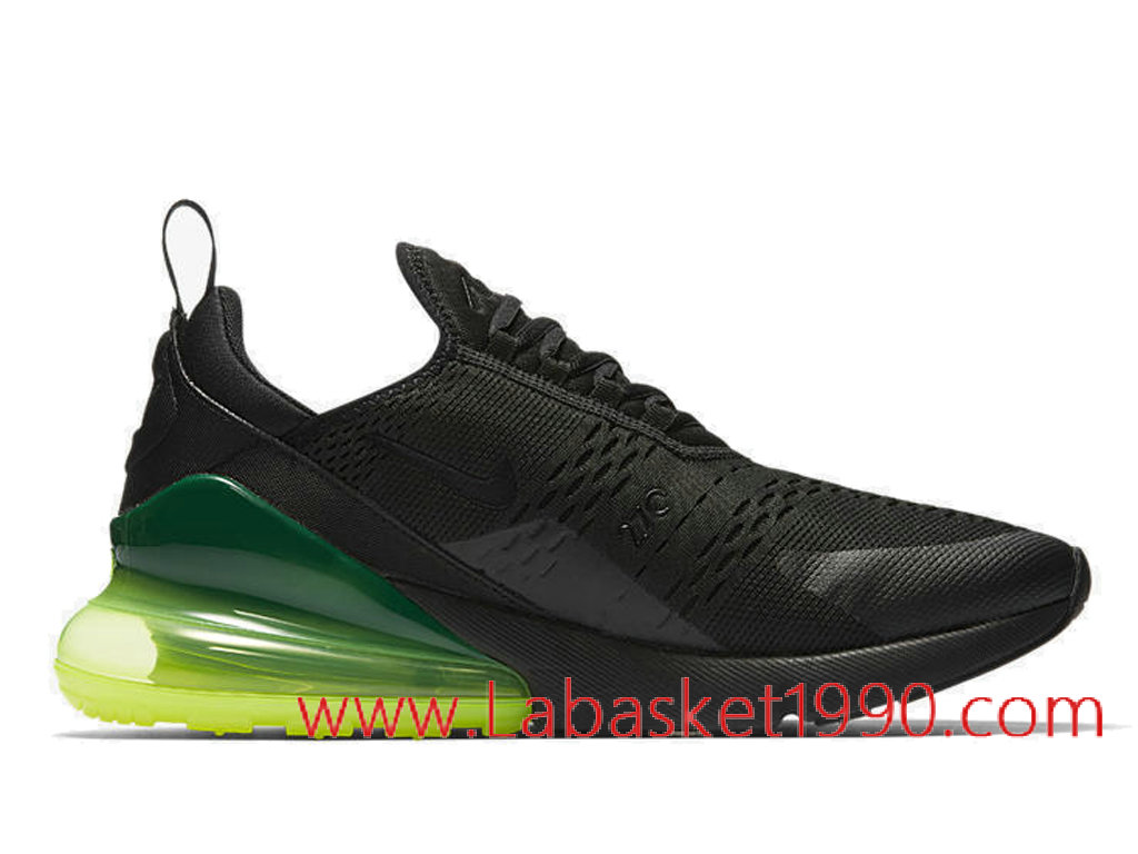 check out 9a279 e946a Nike Air Max 270 Neon Green AH8050-011 Chaussures Nike Prix Pas Cher Pour  Homme