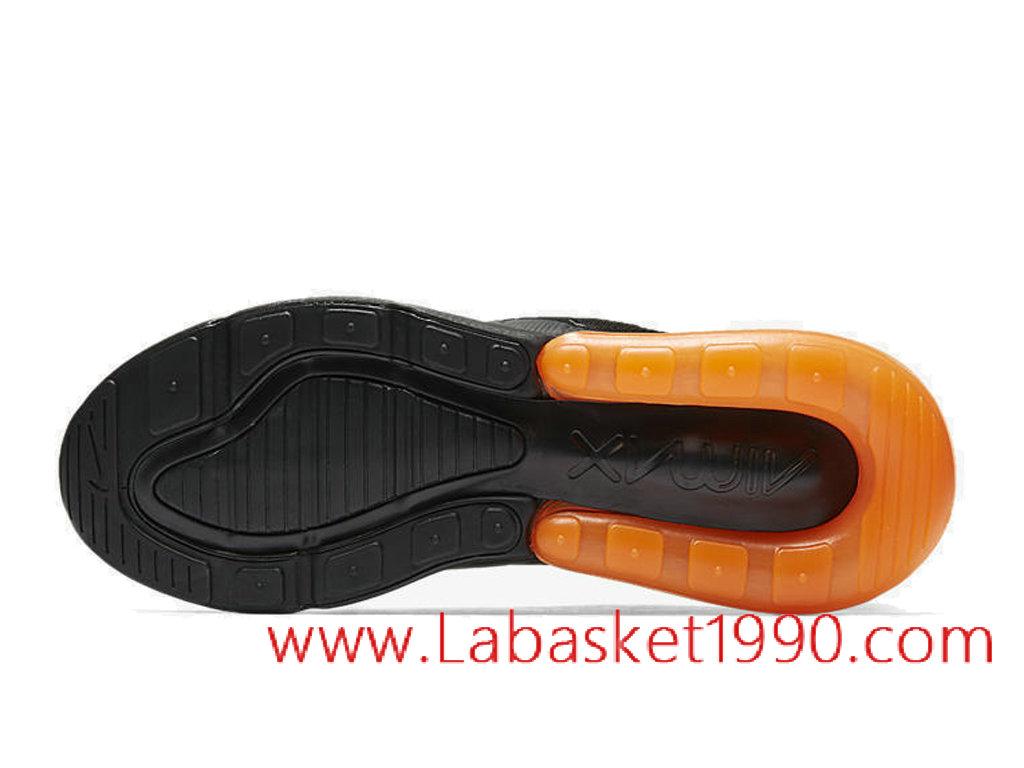 c7518d3ecfa13 ... Nike Air Max 270 QS Chaussures Nike 2018 Pas Cher Pour Homme Orange  Noir AH8050- ...