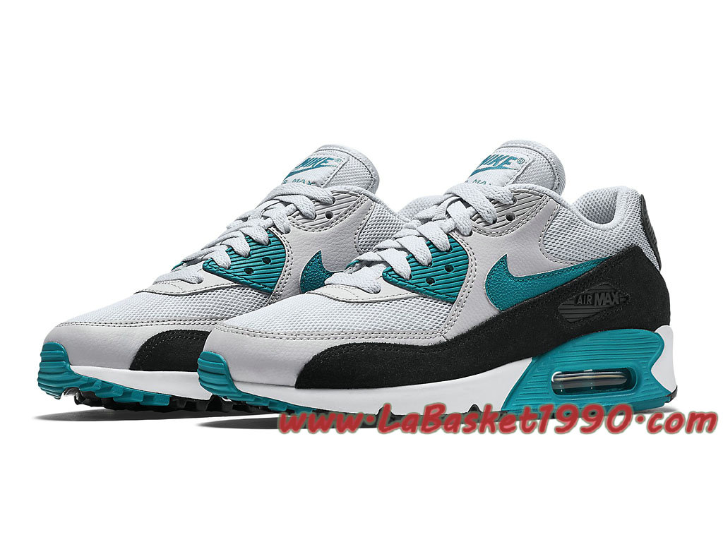 Nike Air Max 90 Essential GS Chaussures Officiel Pas Cher Pour FemmeEnfant Gris Bleu 616730 017 1804091355 Chaussure Basket Homme Nike | Nike