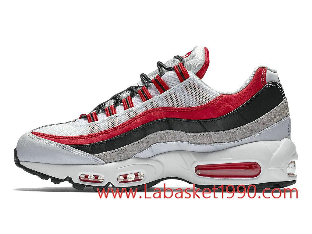 air max 95 blanche rouge grise,Chaussures pas cher La