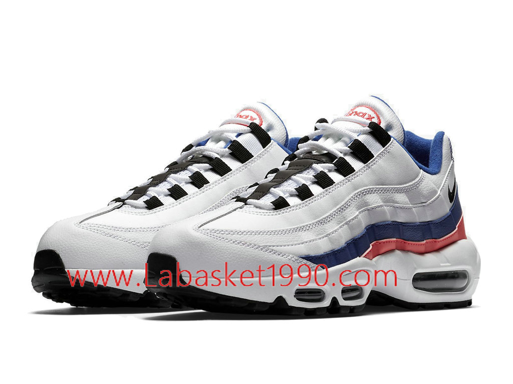 Nike Air Max 95 Essential Ultramarine 749766 106 Chaussures Nike 2018 Pas Cher Pour Homme Blanc Rose 1803071236 Chaussure Basket Homme Nike   Nike