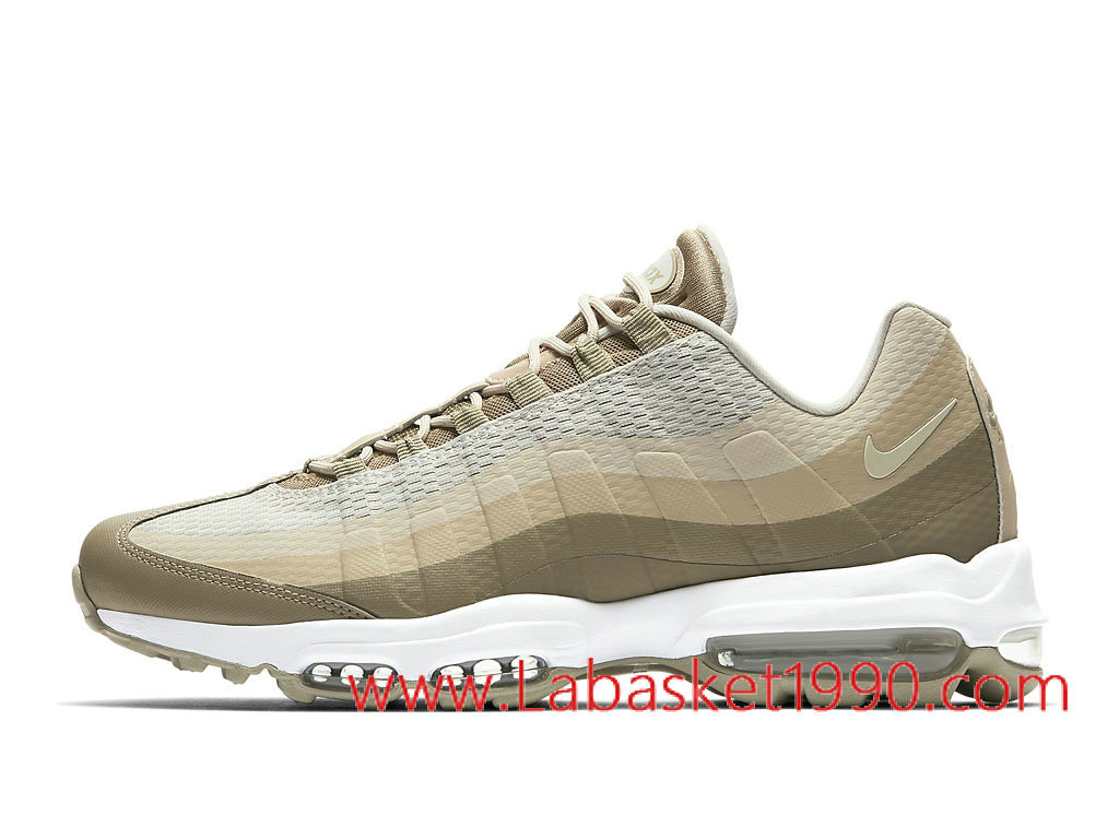 best sneakers dc1bf 1db24 Nike Air Max 95 Ultra Essential 857910 200 Men´s Nike BasketBall Shoes  White Brun