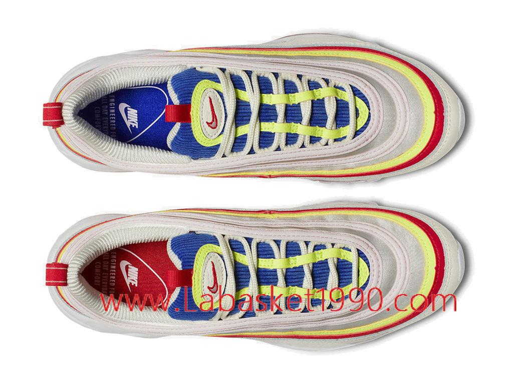 5e3d2fd096c ... Nike Air Max 97 Se AQ4137-101 Chaussures Officiel Sneakers Pas Cher  Pour Homme Blanc ...