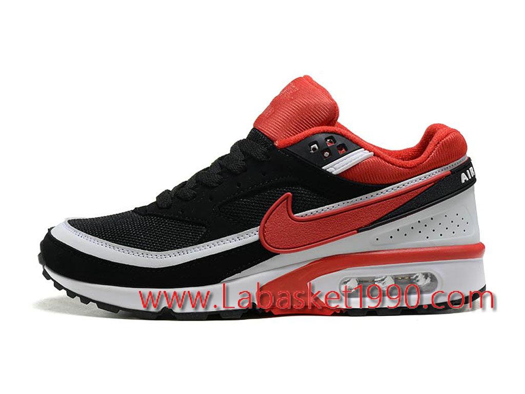 nike air max bw noir et rouge