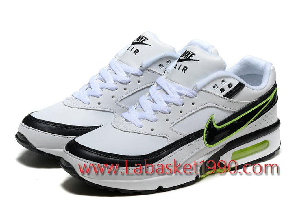 huge discount a99e5 6534d ... aliexpress nike air max bw 819475a007 chaussures nike prix pas cher  pour homme blanc noir vert