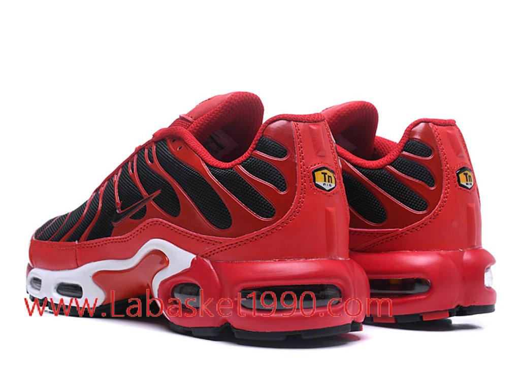 Nike Air Max Plus 2018 Chaussures de BasketBall Pas Cher Pour Homme Noir Rouge 1802281222 Chaussure Basket Homme Nike | Nike Officiel Site!