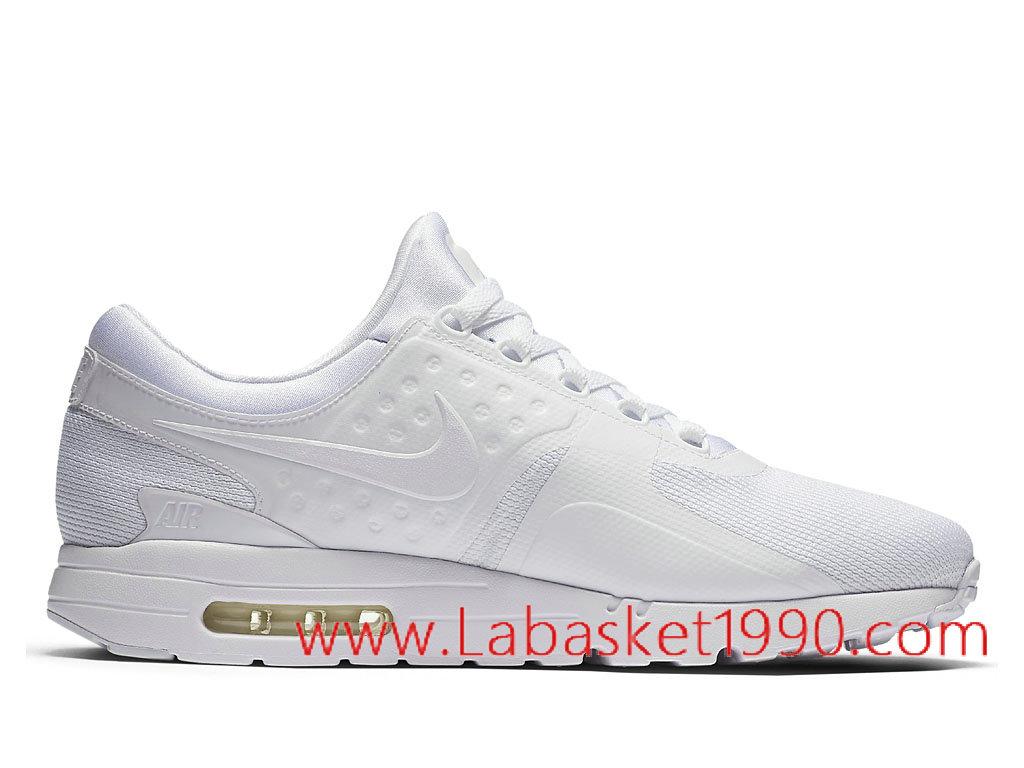 Nike Air Max Zero 876070_100 Chaussures de BasketBall Pas