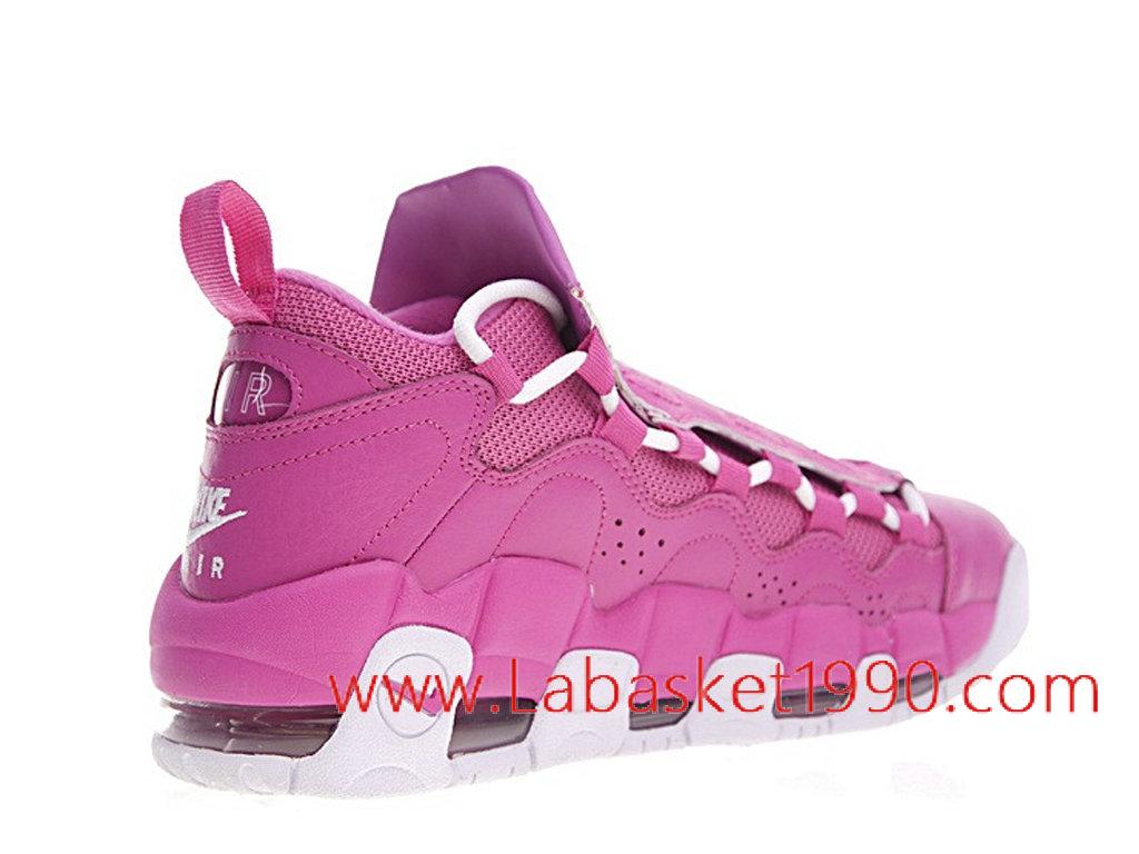 Nike Air More Money QS AJ7383 600 Chaussures de BasketBall