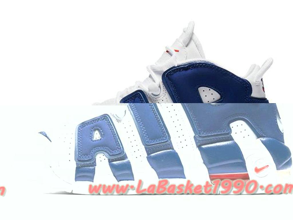 fcce7bf865b ... france nike air more uptempo 921948 101 chaussures de basketball pas  cher pour homme blanc bleu