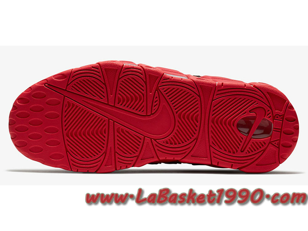 Nike Air More Uptempo AJ3138 600 Chaussures de BasketBall Pas Cher Pour Homme Rouge Noir 1711300636 Chaussure Basket Homme Nike   Nike Officiel Site!