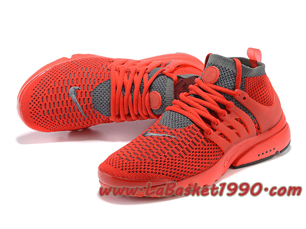 sports shoes 9a824 9f759 ... switzerland nike air presto ultra flyknit 835570id1 chaussures de  basketball pas cher pour homme rouge gris