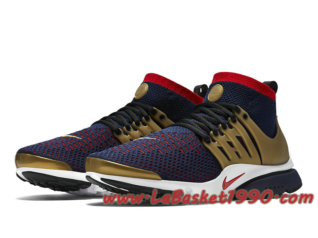 Nike Air Presto Ultra Flyknit Olympic 835570_406 Chaussures