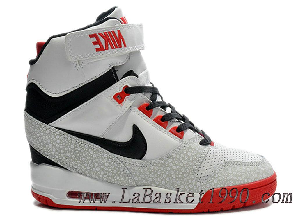 brand new 05c63 67a57 Nike Air Revolution Sky Hi GS Women´s Nike Sport Fashion Shoe White Red