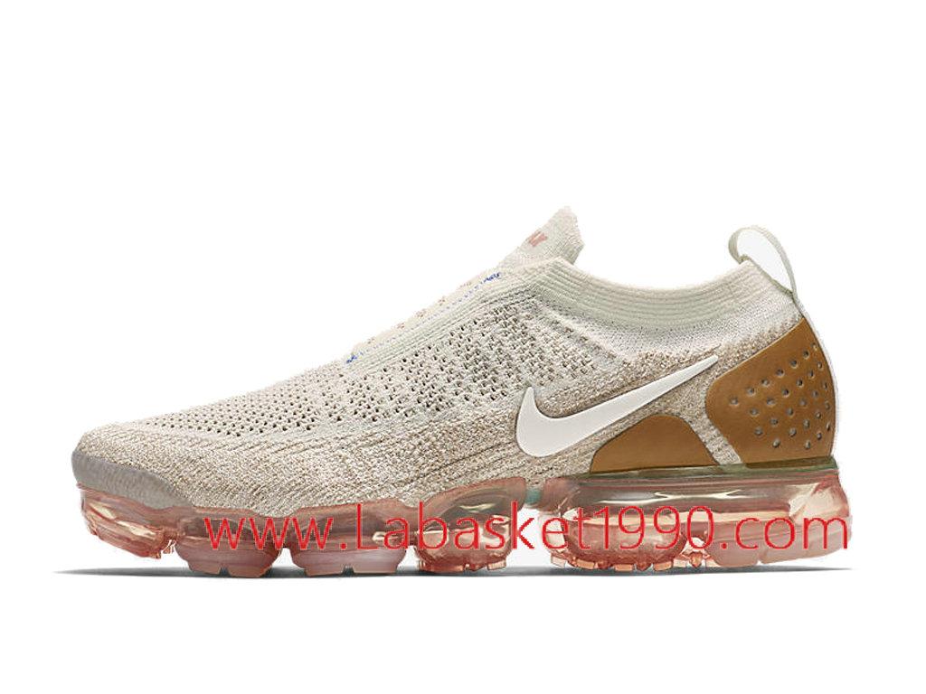 factory authentic d14ec 59476 ... Nike Air VaporMax Flyknit 2.0 Moc AH7006-100 Chaussures Officiel 2018  Pas Cher Pour Homme ...