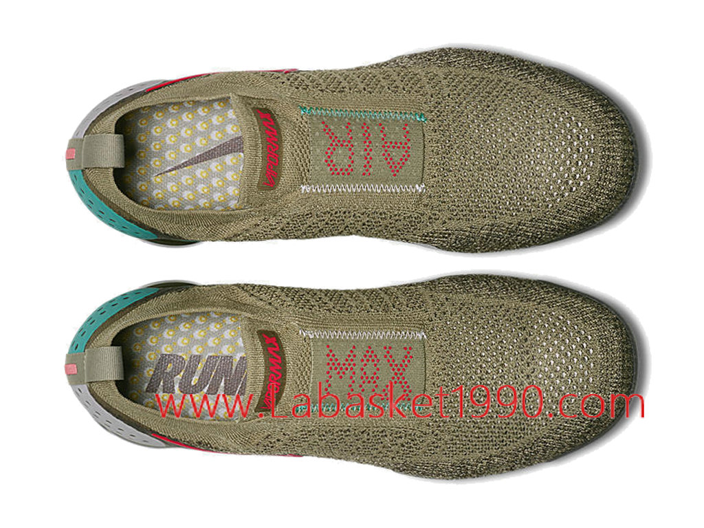 new style 1238a 7ad7a ... Nike Air VaporMax Flyknit 2.0 Moc AH7006-200 Chaussures Officiel 2018  Pas Cher Pour Homme ...