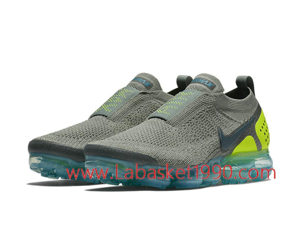 huge discount 0ed27 9df13 ... Nike Air VaporMax Flyknit 2.0 Moc AH7006-300 Chaussures Officiel 2018  Pas Cher Pour Homme ...