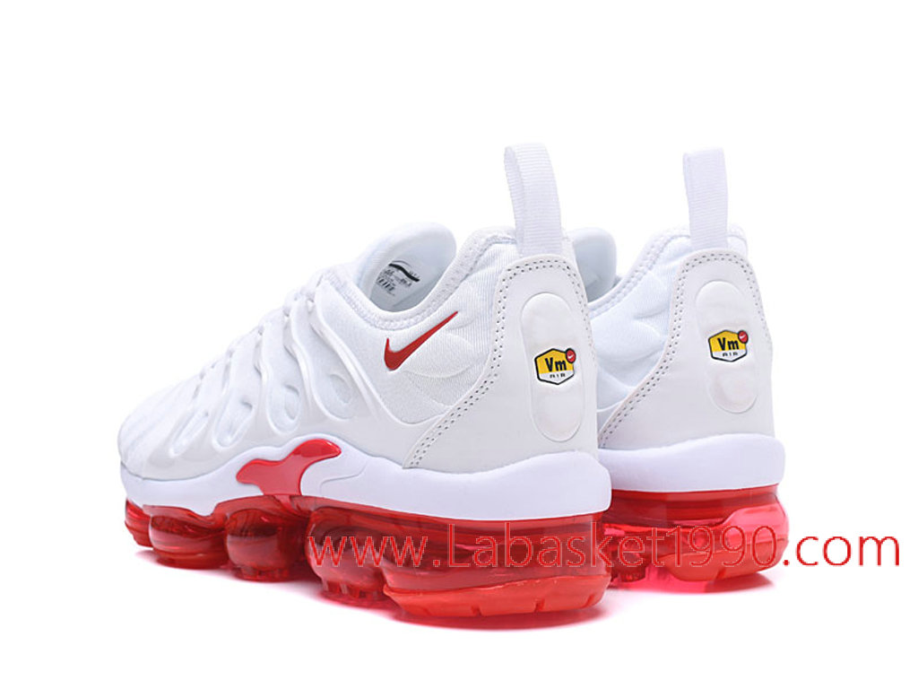 chaussure nike blanche et rouge