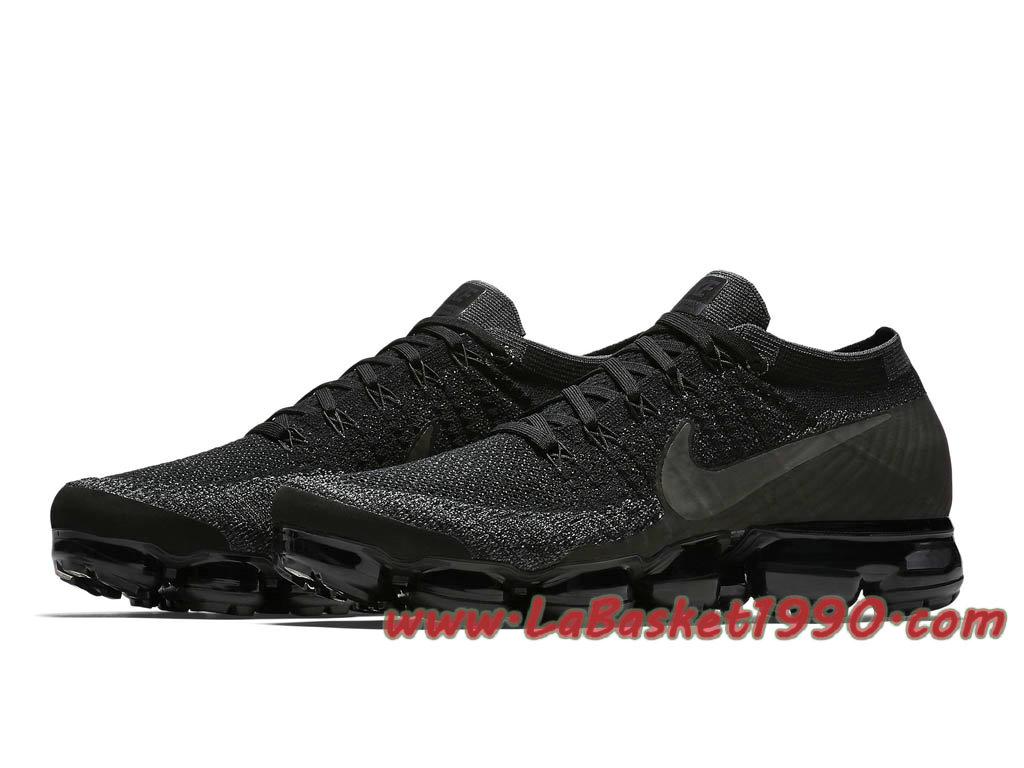 ... Nike Air VaporMax Triple Black 899473_003 Chaussures de Basket Pas Cher Pour Homme ...