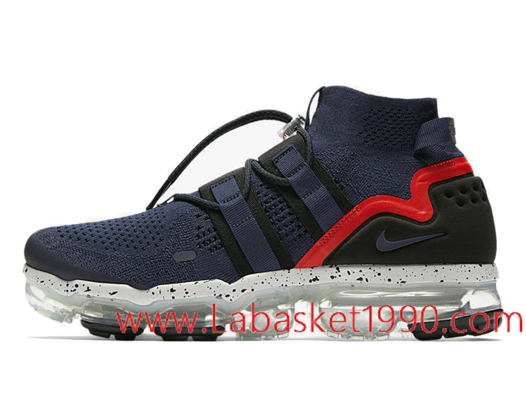 Nike Air VaporMax Utility College Navy AH6834 406 Chaussures Nike 2018 Pas Cher Pour Homme 1802251214 Chaussure Basket Homme Nike   Nike Officiel