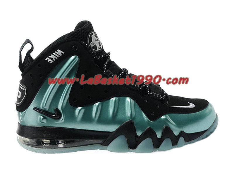 new concept 513ef eb8ad Nike Barkley Posite Max 555097-301 Chaussures Nike Basket Pas Cher Pour  Homme Noir Vert ...