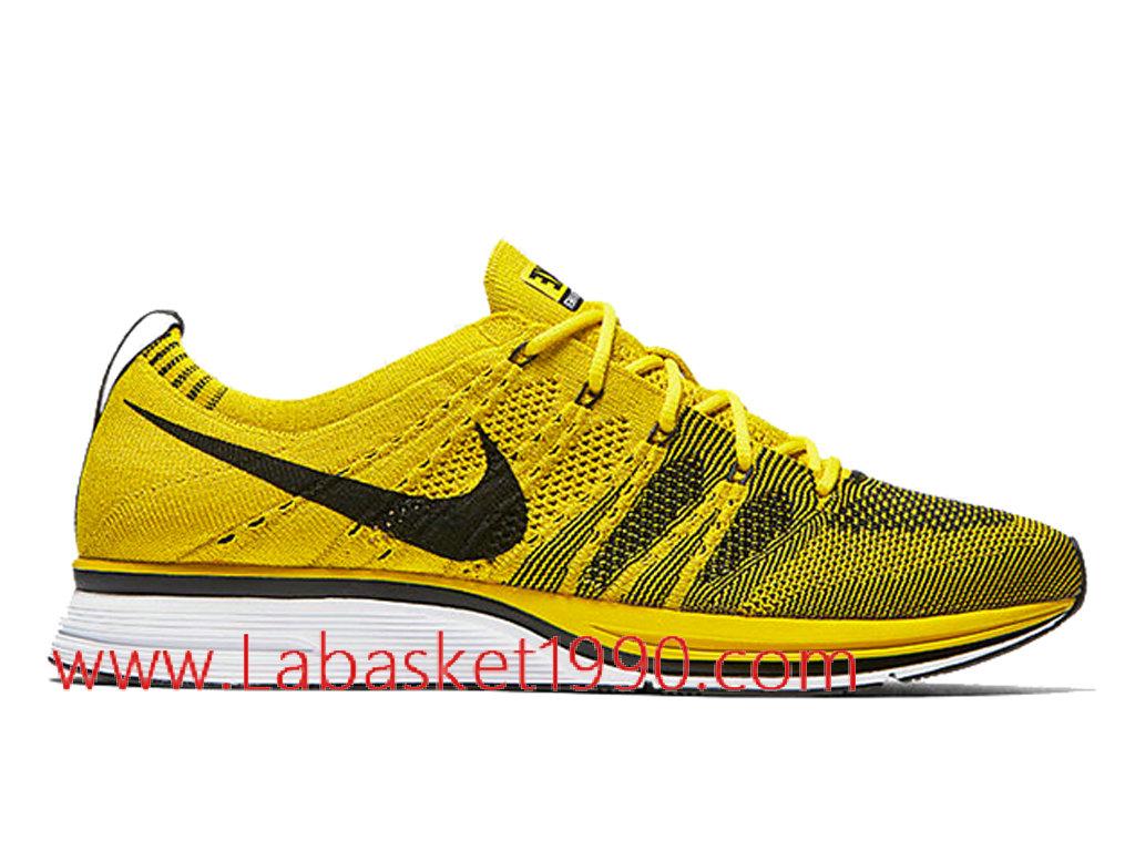 chaussures jaune nike