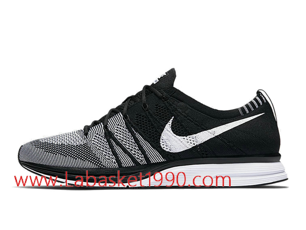 ... Nike Flyknit Trainer Oreo 2.0 AH8396-005 Chaussures Nike Running Pas Cher Pour Homme Noir ...