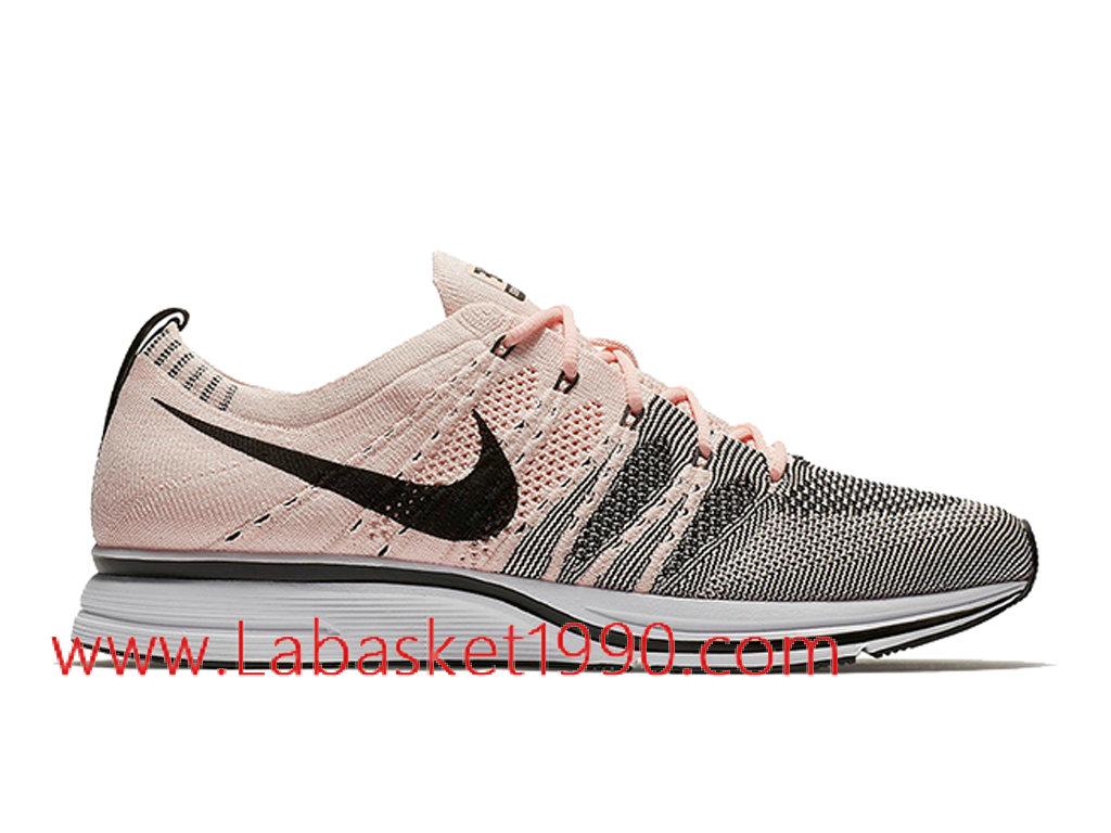 chaussure nike rose et noir