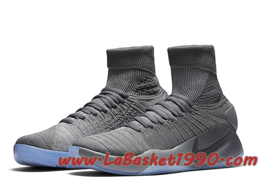 Nike Hyperdunk 2016 Flyknit 843390 002 Chaussures Nike Prix