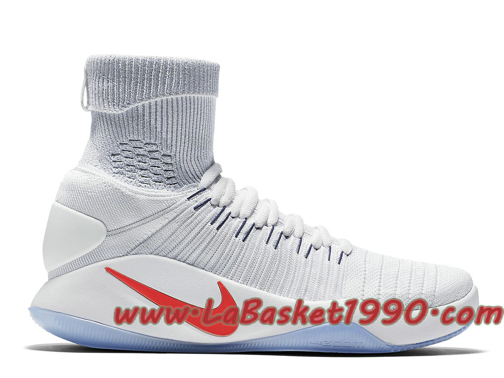 more photos b9715 89bc2 Nike Hyperdunk 2016 Flyknit 843390-146 Men´s Nike Basketball Shoes White Red