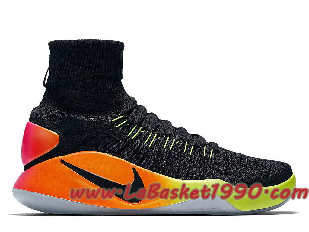 new arrival cbf6f 3085e Nike Hyperdunk 2016 Flyknit Unlimited 843390-017 Men´s Nike Basketball  Shoes Black Orange