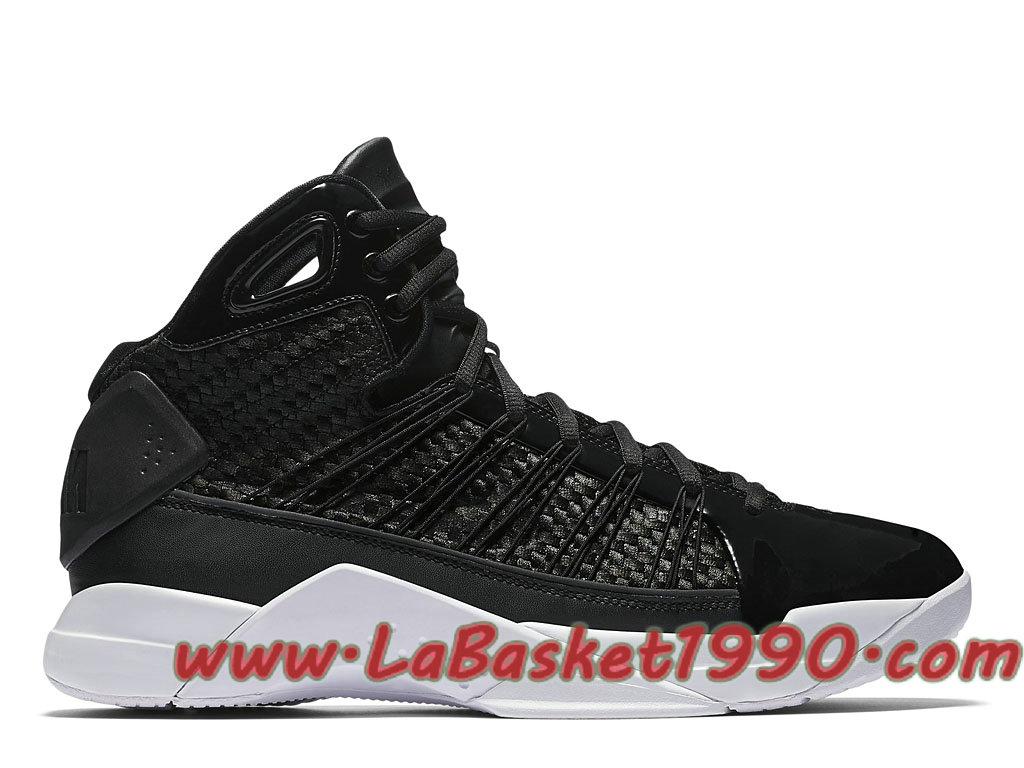 the best attitude cb91c 8ec38 Nike Hyperdunk Lux 818137-001 Chaussures Nike Basket Pas Cher Pour Homme  Noir Blanc ...