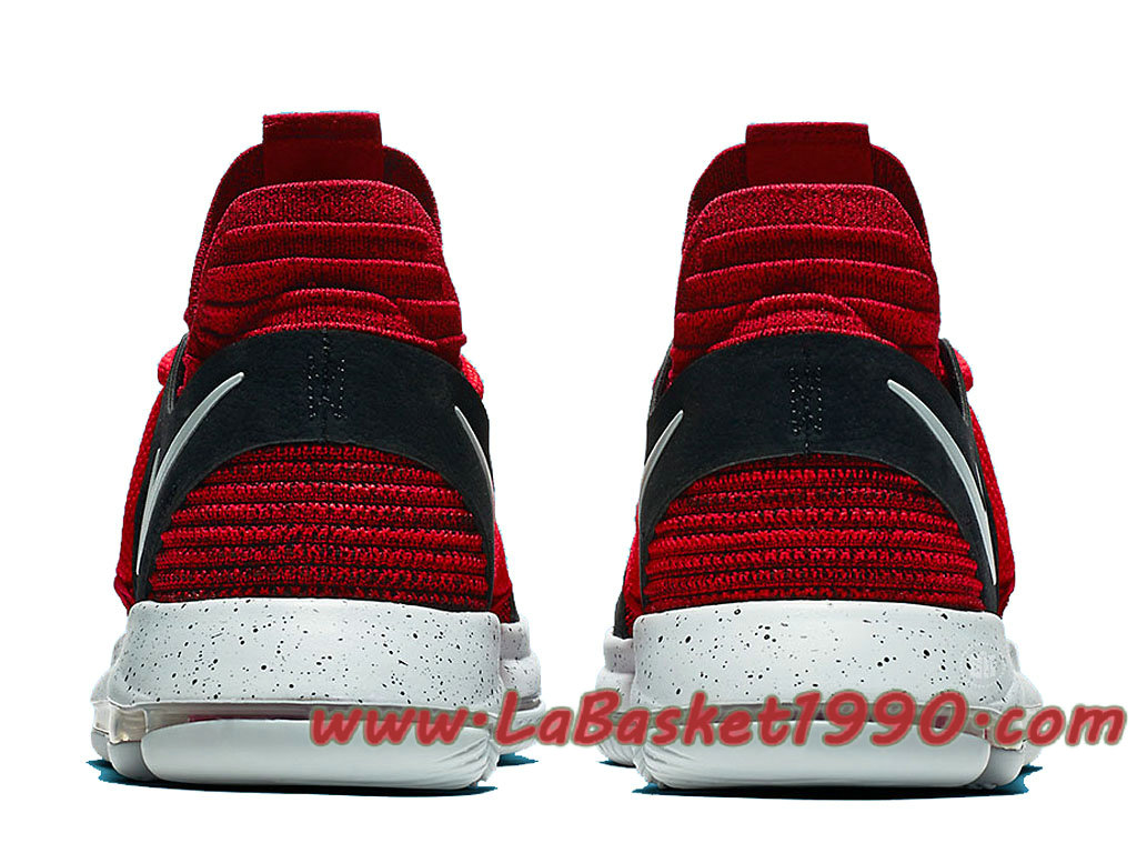 2573ef7a37c0 ... Nike KD 10 University 897816-600 Men´s Nike Basketball Shoes Red Black  ...