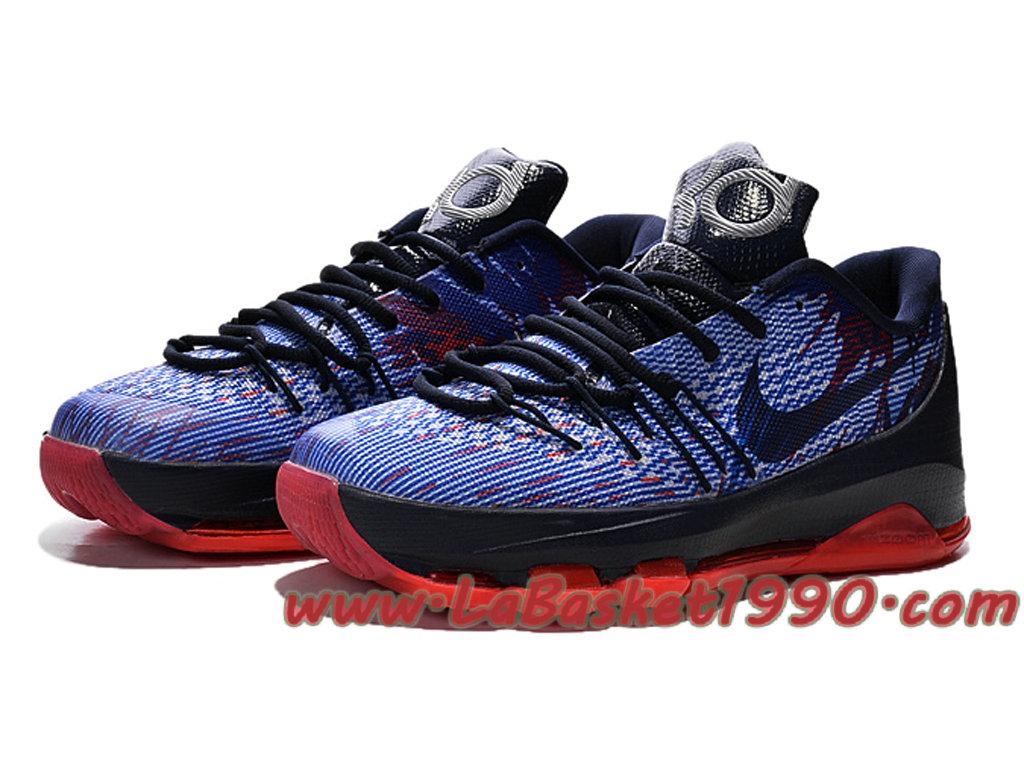 premium selection 9832e 9df72 new zealand nike kd 8 gs chaussures de basket pas cher pour femme bleu noir  db1ec
