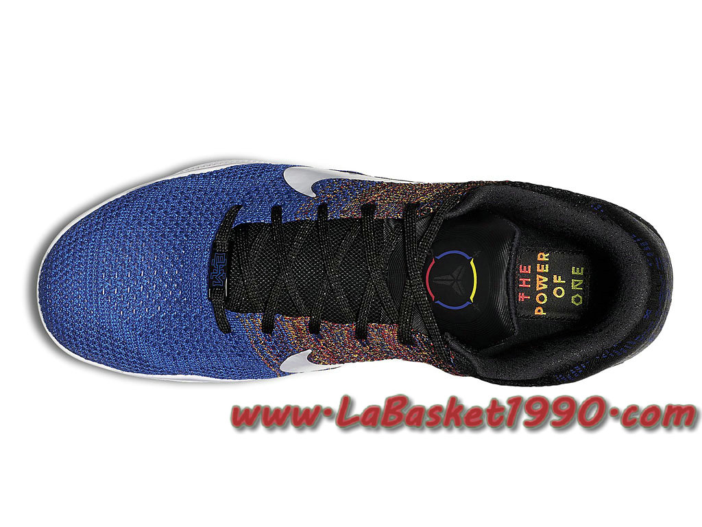 44be889ad176 ... Nike Kobe 11 Elite Low BHM 822522-914 Chaussures Nike Basket Pas Cher  Pour Homme ...