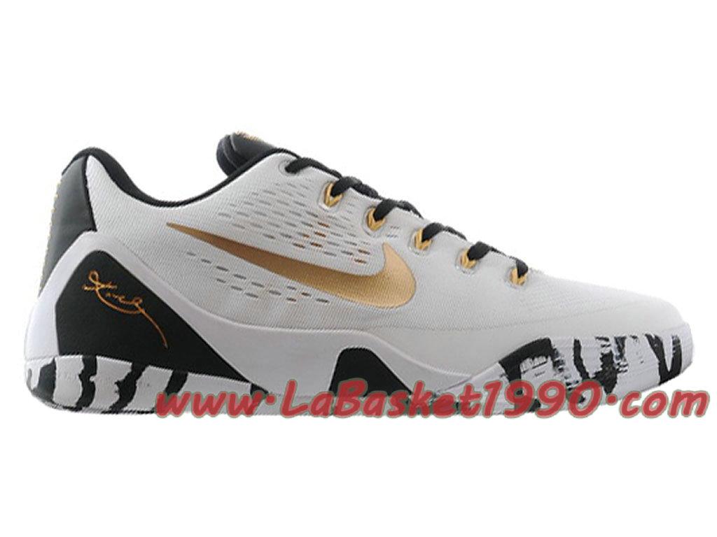hot sale online 6d0d2 c4c44 Nike Kobe 9 EM Men´s Nike Basketball Shoes White Gold 646701-ID1