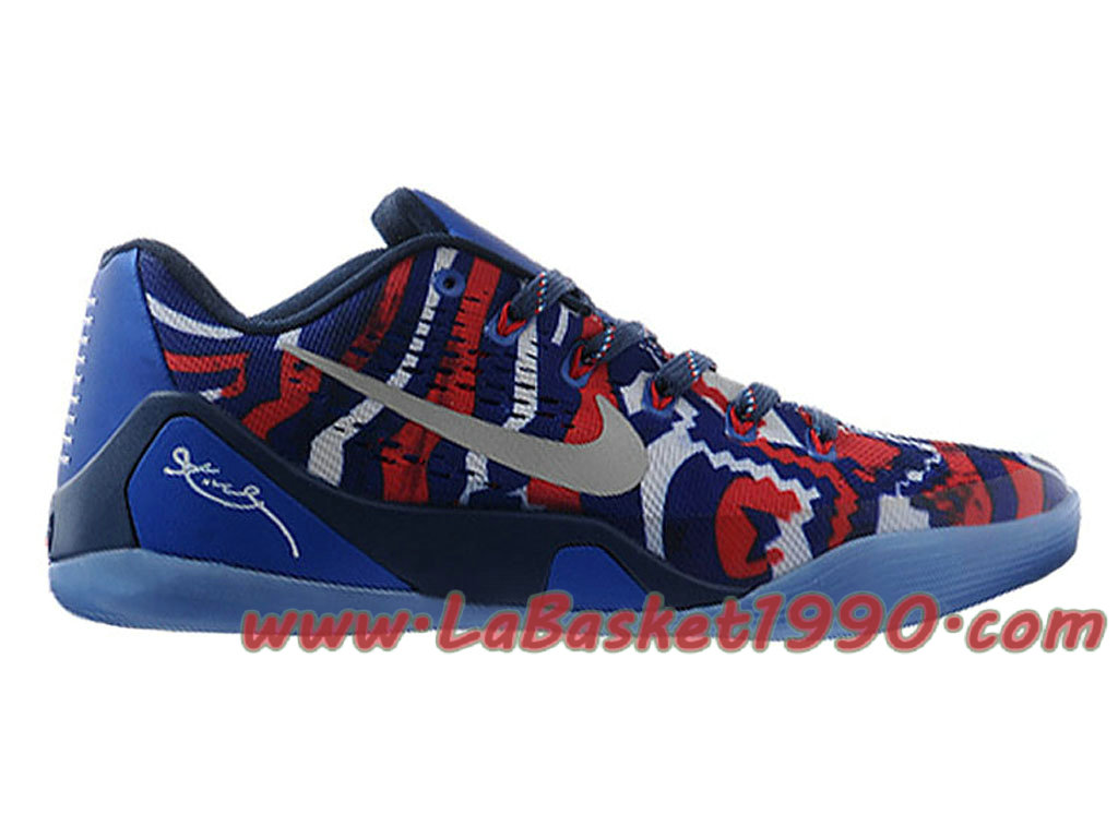 bb2a95acfcd Nike Kobe 9 EM Low Men´s Nike Basketball Shoes Independence Day 646701-104