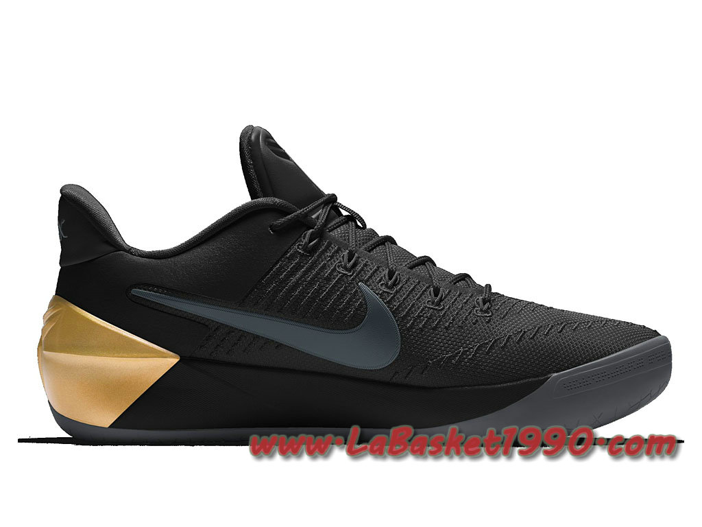 Pas Pour d Basket Kobe A Homme Noir Cher Or Nike Chaussures 0ExFa6wnn