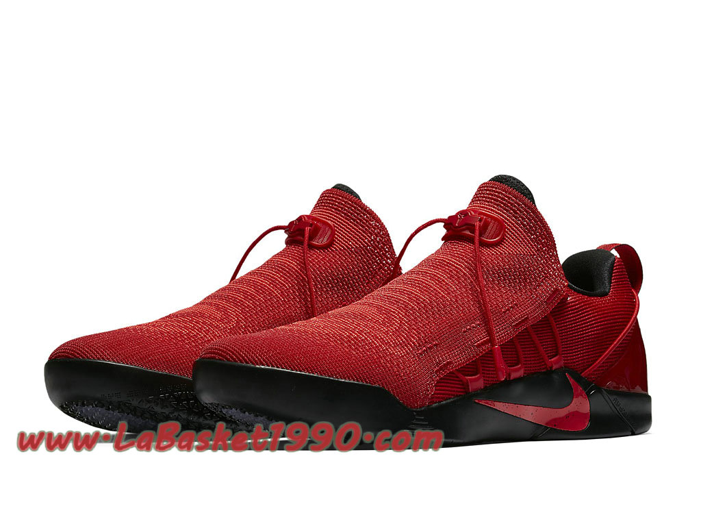low priced ab995 d7b90 ... Nike Kobe AD NXT 882049 600 Chaussures de BasketBall Pas Cher Pour  Homme Rouge Noir ...