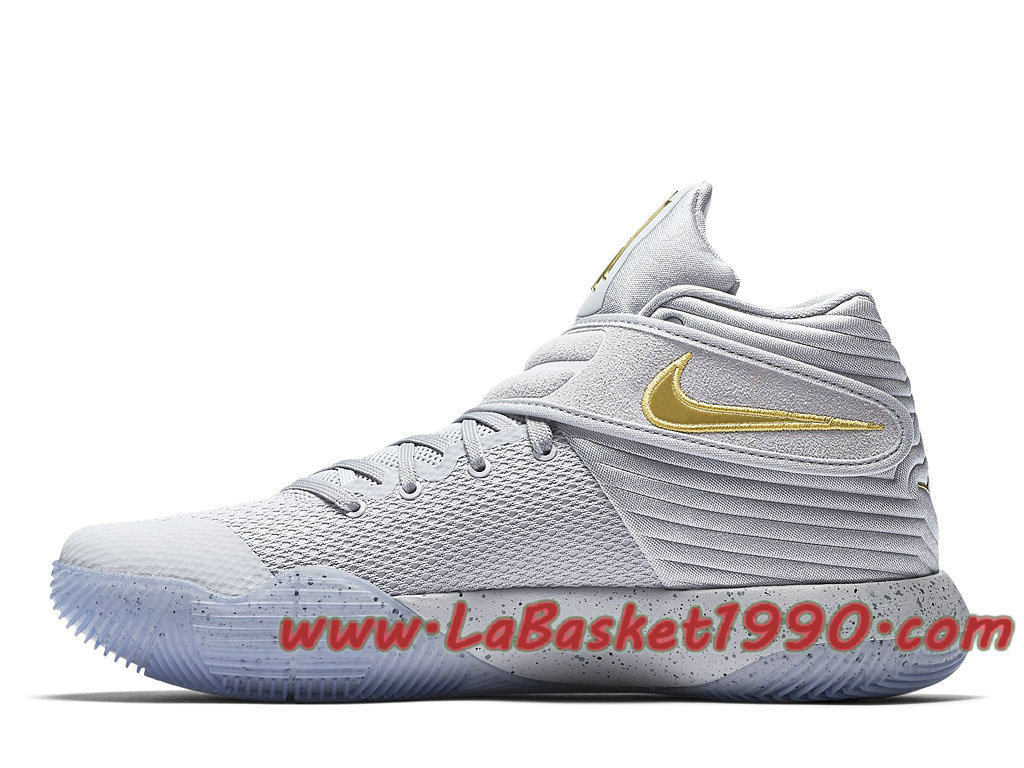 best service 0a979 26a5f ... Nike Kyrie 2 Battle Grey 819583-005 Chaussures Nike Basket Pas Cher  Pour Homme ...