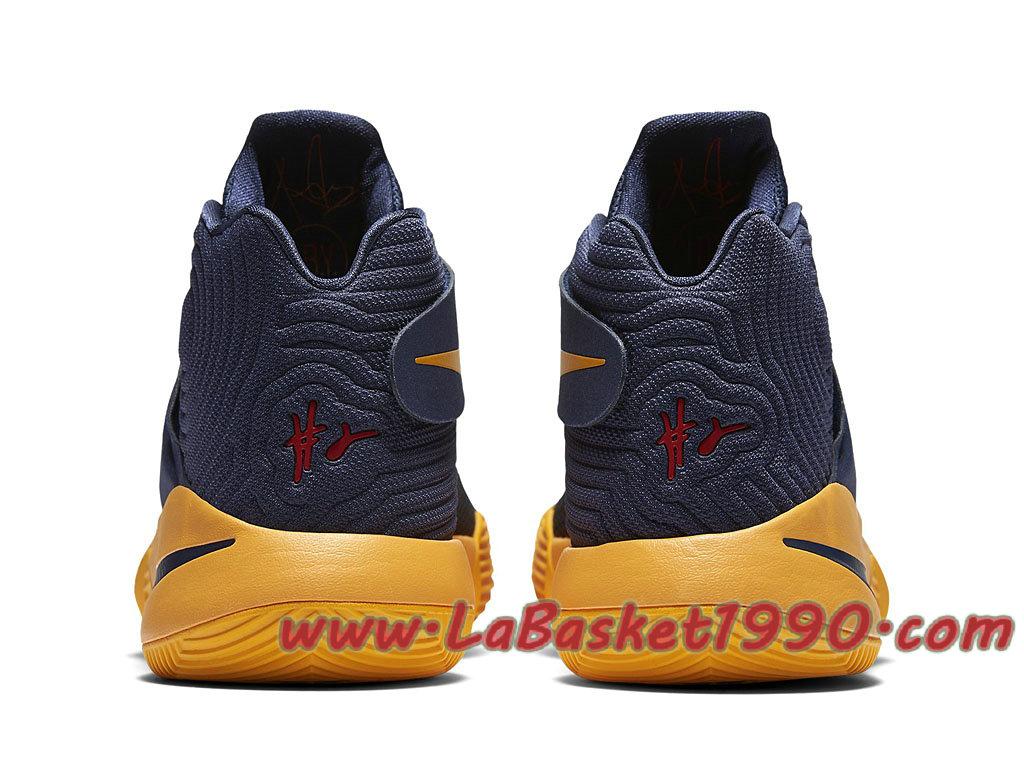 quality design 6ab4e db501 ... Nike Kyrie 2 Cavs 819583-447 Chaussures Nike Basket Pas Cher Pour Homme  Noir Jaune