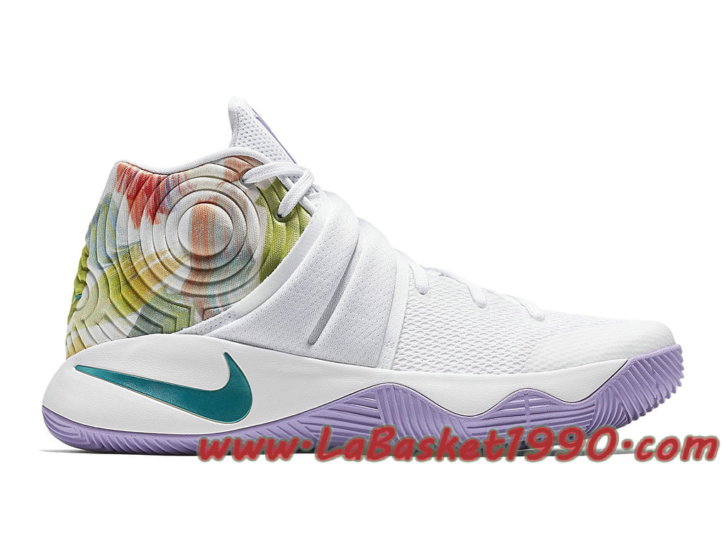 new arrival dd100 2b4a6 Nike Kyrie 2 EP Easter 820537-105 Chaussures Nike Basket Pas Cher Pour  Homme Blanc ...