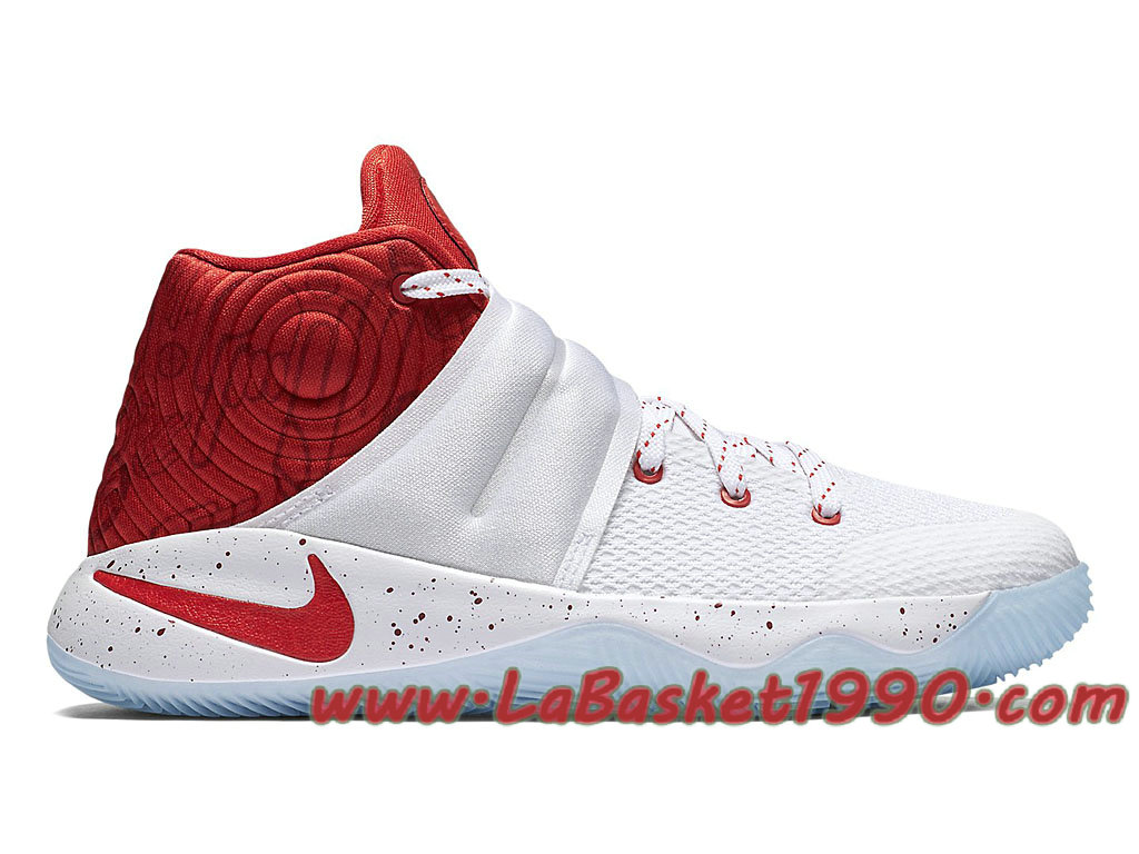 size 40 52a11 2f475 Nike Kyrie 2 Touch Factor 826673-166 Men´s Nike Basketball Shoes White Red